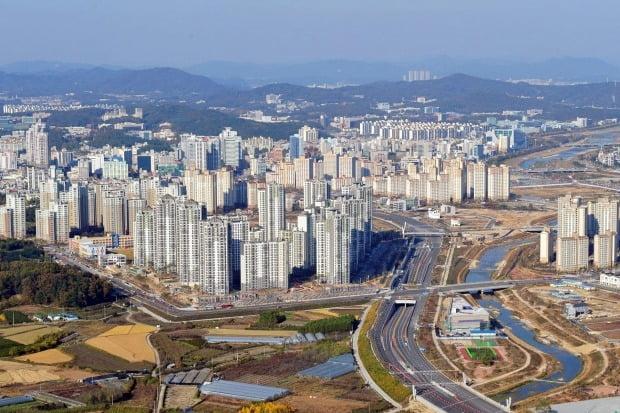 대전 유성구의 아파트 단지 전경(자료 연합뉴스)