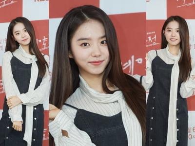 김소혜, 아이돌 경력 나오는 발랄 포즈