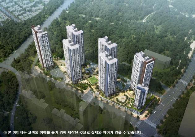 국립공원 '제1무돌길'로 연결되는 '더샵 광주포레스트'