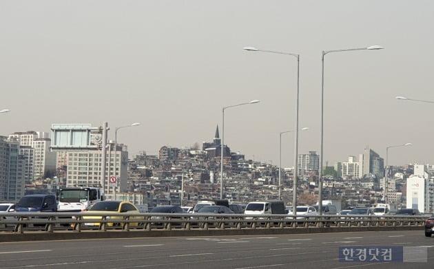 올해 시공사를 선정할 예정인 서울 한남뉴타운3구역 일대. 전형진 기자