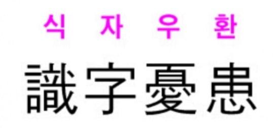 [신동열의 고사성어 읽기] 식자우환(識字憂患)