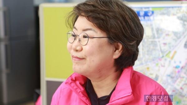 이혜훈 미래통합당 동대문을 후보가 9일 한경닷컴과의 인터뷰에 응하고 있다. /사진=조상현 한경닷컴 기자 doyttt@hankyung.com