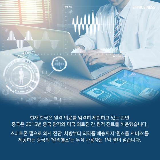 [카드뉴스] 꽉 막힌 의료 규제에 중국·일본으로 가는 SK·네이버