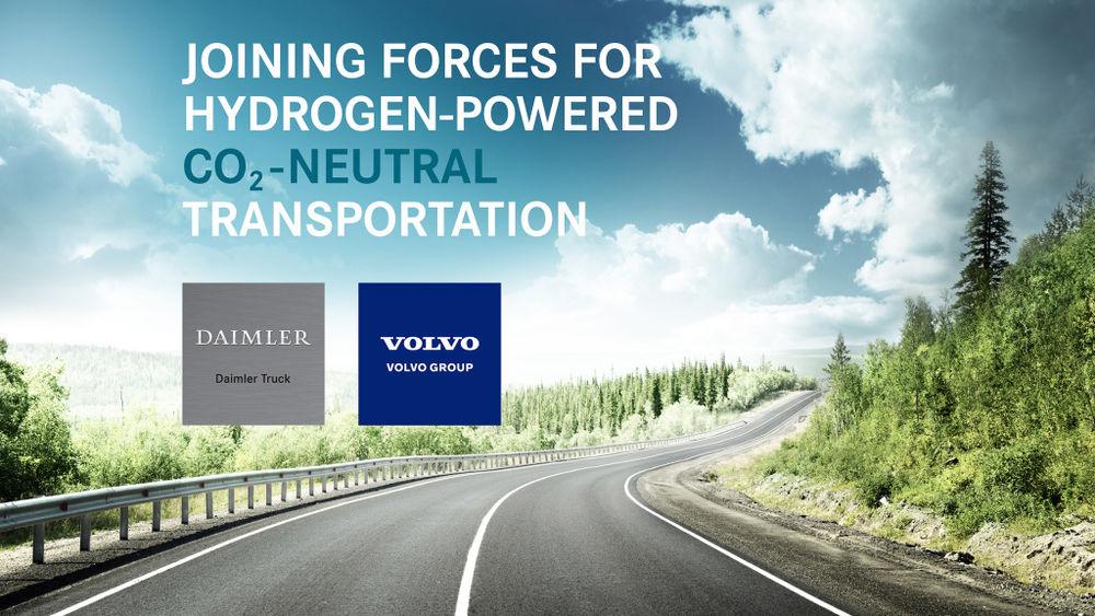 다임러·볼보, 상용차용 연료전지 위한 합작법인 세운다