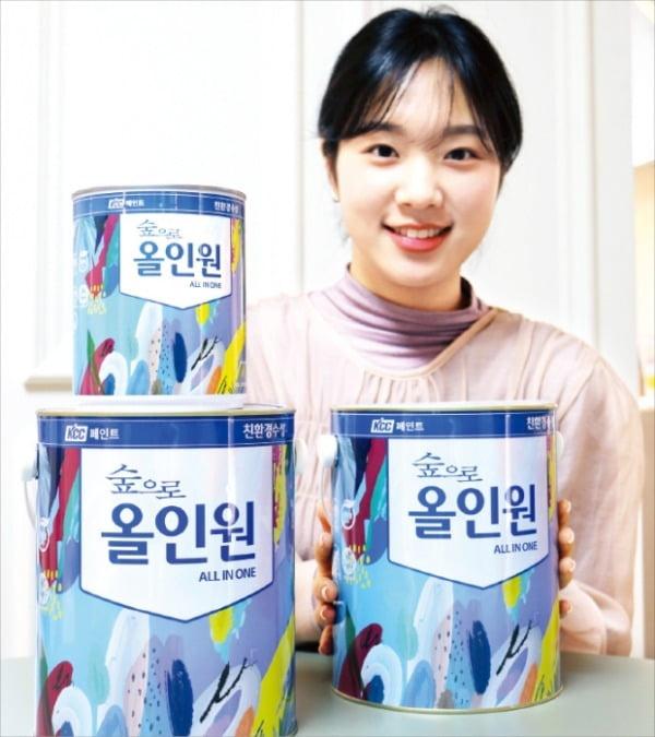 KCC 친환경 수성 페인트 '숲으로 올인원'