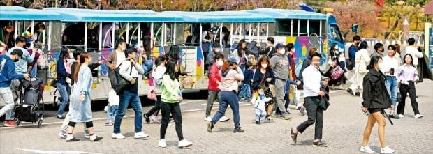 지역사회 감염 여전한데…붐비는 서울대공원