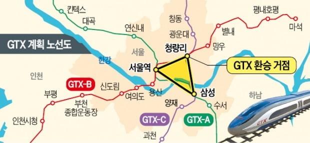 GTX 2개 노선 교차…청량리역 '수도권 광역 교통허브'로