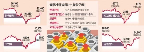 """""""경기 침체 때 강하다""""…상승세 탄 불황株"""