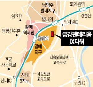 GTX-B 수혜…'자체 브랜드' 분양으로 승부수