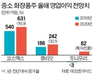 '온라인 채널' 선점한 중소 화장품株 두각