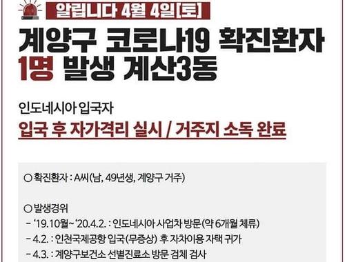 자카르타 출발 한국인도 코로나19 확진…교민 사회 불안