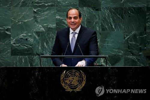 코로나19 사태 속 이집트 대통령 권한 법으로 강화