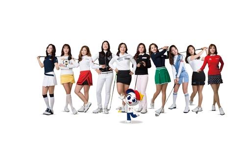 박결, 5년 연속 KLPGA 홍보모델…조아연·임희정도 합류