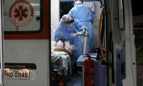 브라질 코로나19 사망·확진 연일 급증세…환자 8만명 육박