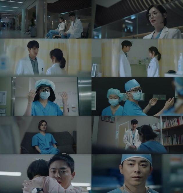 '슬기로운 의사생활'이 사명감 있는 의사들의 모습을 보여주고 감동을 선사하고 있다. / 사진=tvN 방송 캡처
