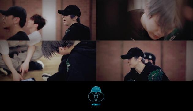 가수 강다니엘의 '2U' 안무 스케치 영상 / 사진제공=커넥트엔터테인먼트