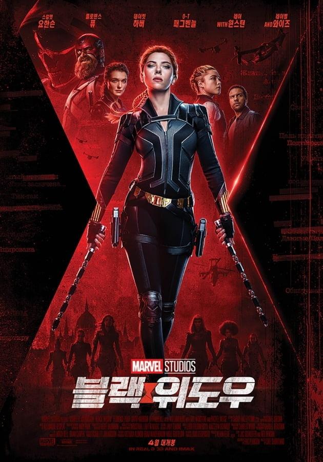 영화 '블랙 위도우' 포스터