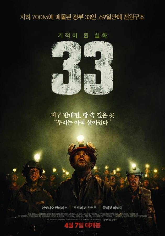 영화 '33' 포스터./