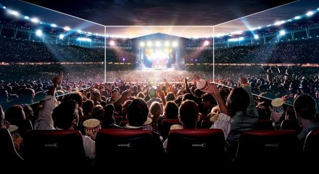CJ 4DPLEX의 스크린X가 '2020 에디슨 어워드'의 '미디어와 비주얼 커뮤니케이션-엔터테인먼트' 부문에서 금상을 받았다. / 사진제공=CJ CGV