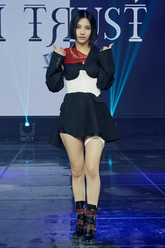[TEN 포토] 여자아이들 소연 '아이 트러스트 따봉~'
