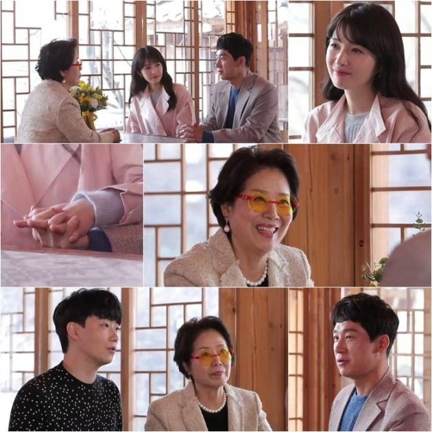 '우리 다시 사랑할 수 있을까2' 김경란-노정진이 선우용녀를 만났다. / 사진제공=MBN