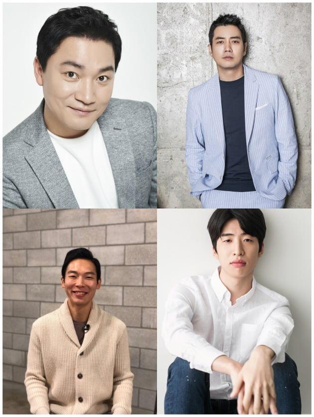 배우 조재윤(왼쪽 위부터 시계방향), 주상욱, 유수빈, 양경원./사진=각 소속사 제공