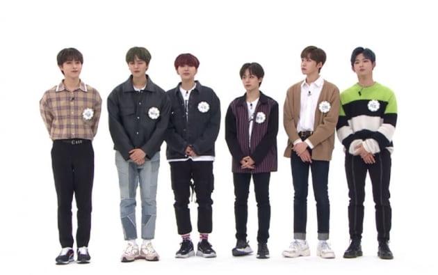 '주간아이돌'에 출연한  원어스/ 사진제공=MBC에브리원