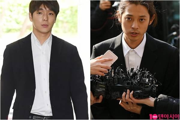 최종훈(왼쪽), 정준영./ 텐아시아 DB