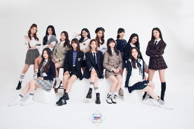 니지 프로젝트 그룹 /  사진제공=JYP엔터테인먼트 Sony Music Entertainment (Japan) Inc