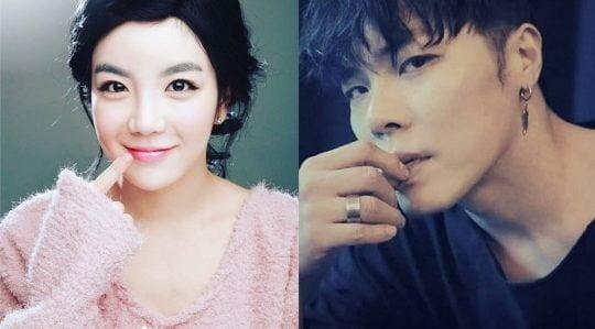 방송인 에이미와 가수 휘성 /텐아시아 DB