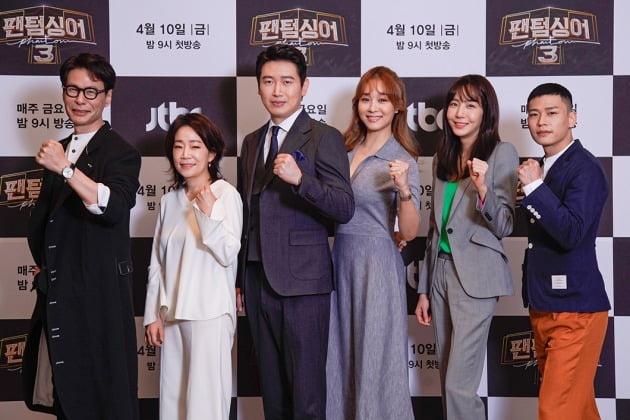 윤상(왼쪽부터), 김문정, 손혜수, 옥주현, 김이나, 지용./사진제공=JTBC