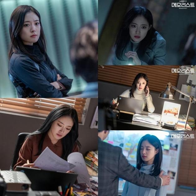 tvN 수목드라마 '메모리스트' 현장 비하인드컷. /사진제공=tvN