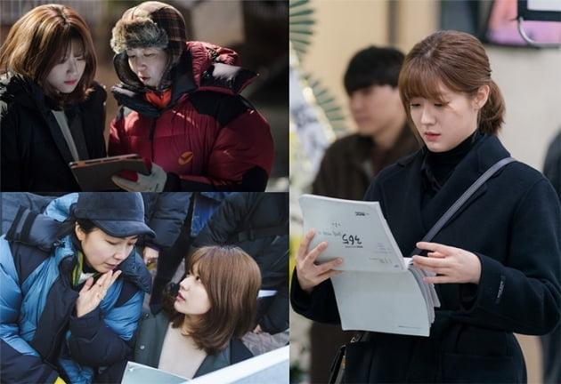 MBC 월화드라마 '365 : 운명을 거스르는 1년' 현장 비하인드컷. /사진제공=MBC