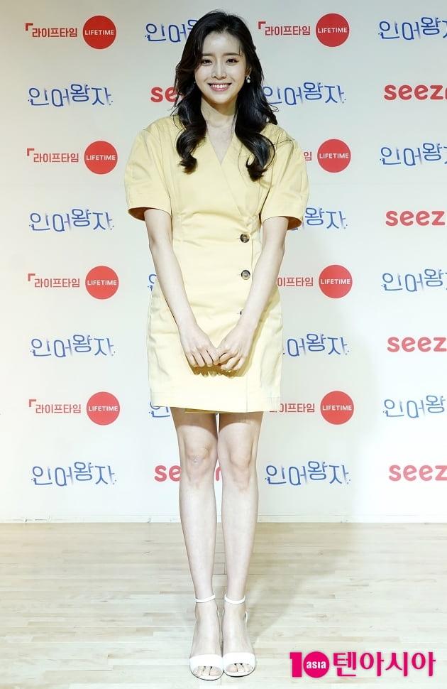 [TEN 포토]'인어왕자' 정신혜 '어떻게 봐도 예쁨 한가득'