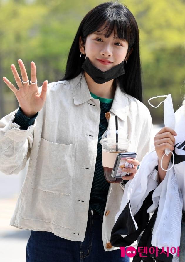 [TEN 포토] 우주소녀 엑시 '아름다운 미소 '