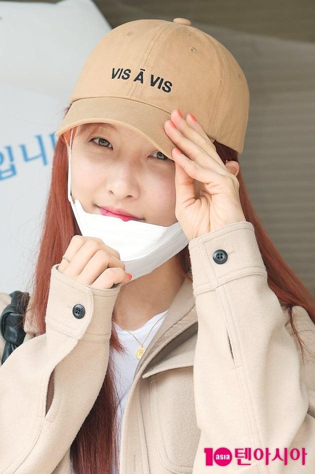 [TEN 포토] 손지현 '가려도 예쁘죠?'