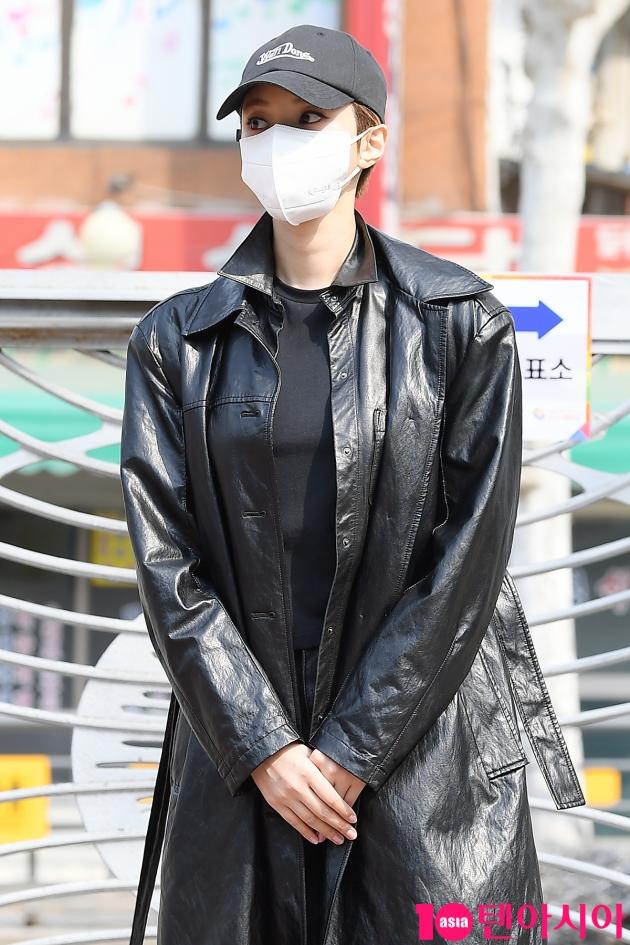 [TV텐] 고준희 '투표소에서 카리스마 뿜뿜'