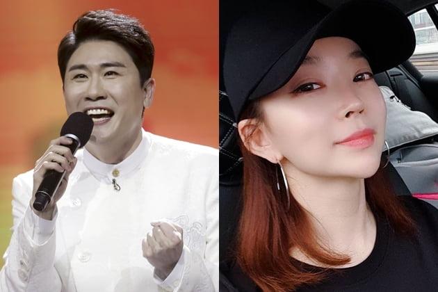 """영탁X윤희 열애설…소속사 """"사실 무근"""" /사진=TV조선 제공, SNS"""