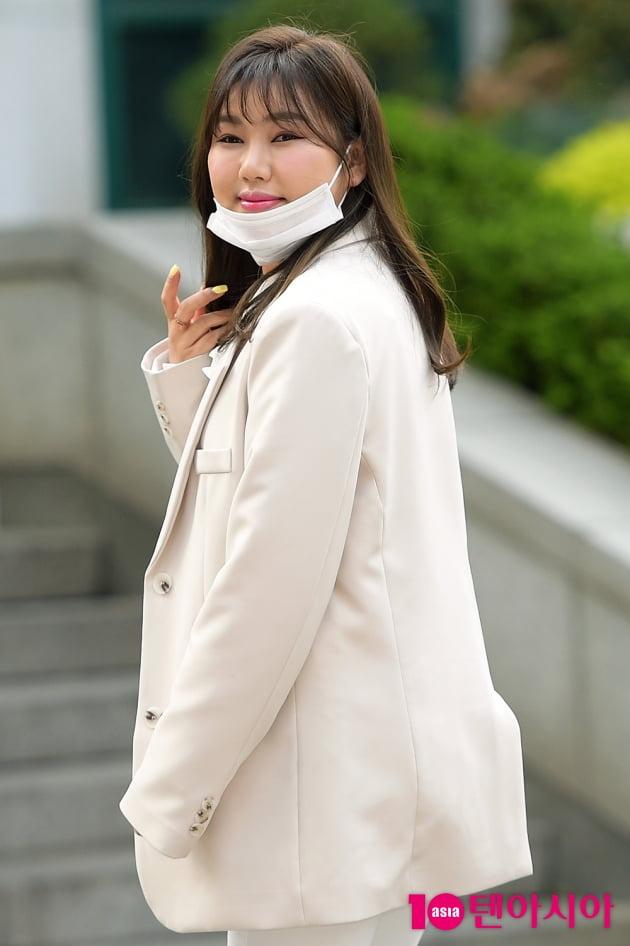 [TEN 포토] 송가인 '점점 더 예뻐지는 중'