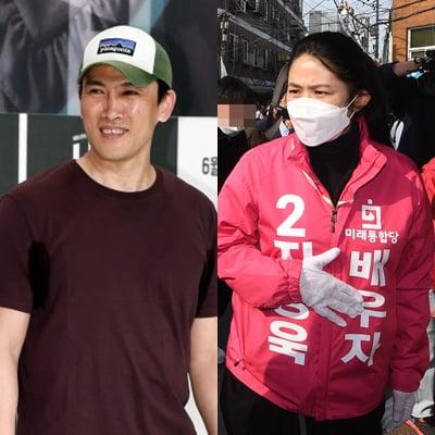 배우 유오성(왼쪽)과 심은하/ 사진=텐아시아DB