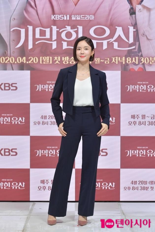 [TEN 포토] '기막힌 유산' 강세정 '걸크러쉬 역활 기대해주세요'