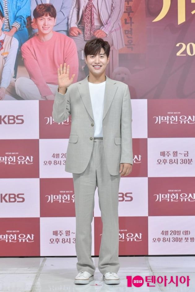 [TEN 포토] '기막힌 유산' 신정윤 '에너지 넘치는 미소'