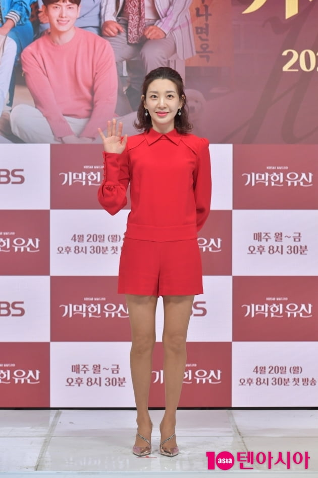 [TEN 포토] '기막힌 유산' 이아현 '강렬한 레드'