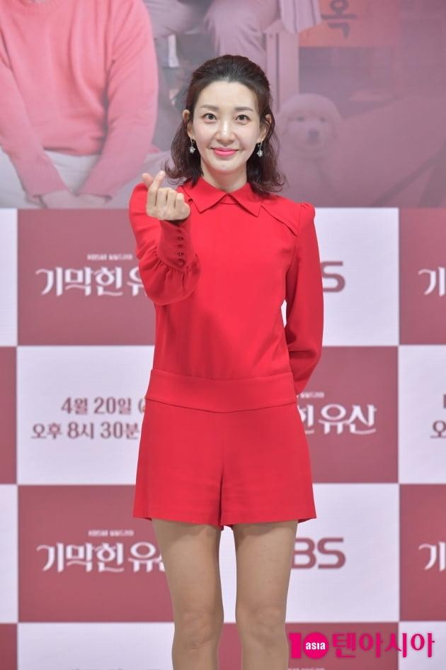 [TEN 포토] '기막힌 유산' 이아현 '하트도 사랑스럽게'