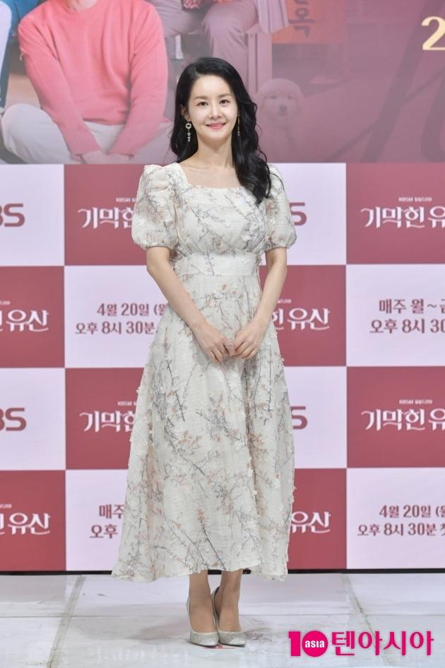 [TEN 포토] '기막힌 유산' 김가연 '사랑스러운 미소'