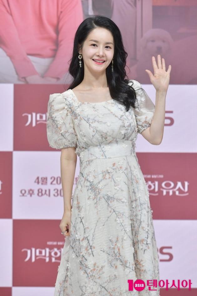 [TEN 포토] '기막힌 유산' 김가연 '드라마 7년 만에 복귀작'