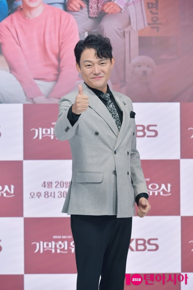 [TEN 포토] '기막힌 유산' 남성진 '훈훈한 미소'