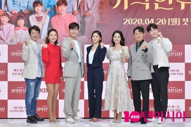 [TEN 포토] 막장 없는 가족극 '기막힌 유산' 파이팅