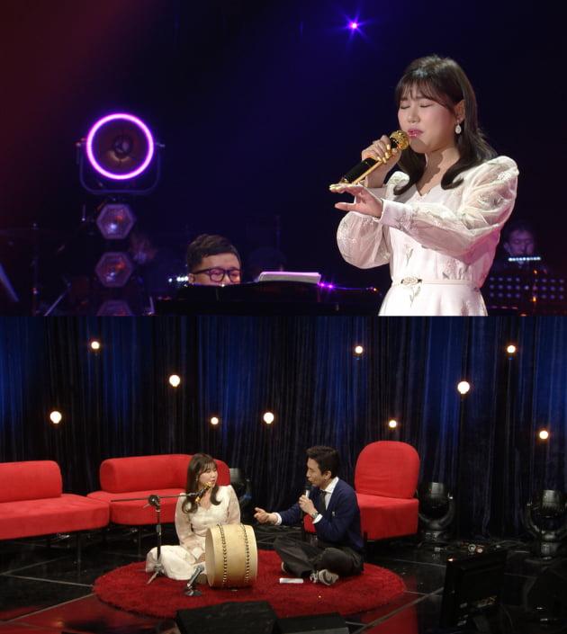 '유희열의 스케치북' 에 출연한 가수 송가인/ 사진제공=KBS2