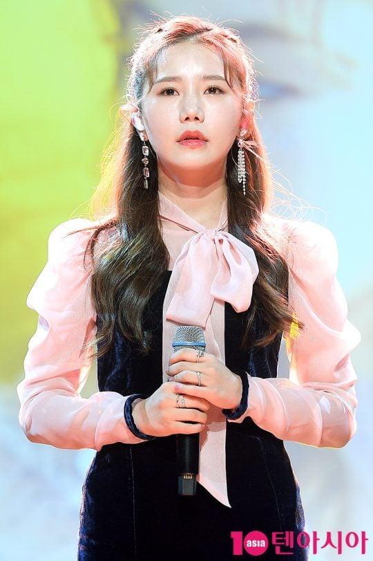 가수 송하예./ 텐아시아 DB